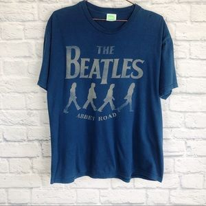 The Beatles Graphic Band shirt size large